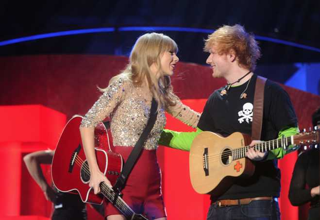 Taylor Swift Ed Sheeran Jingle Ball