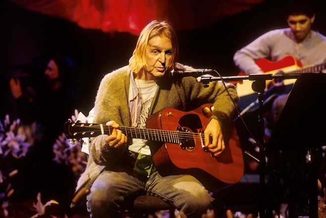 Kurt Cobain Unplugged Wallpaper Kurt Cobain Mtv Unplugged