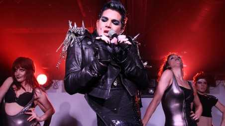 Adam Lambert Diva Hands Slideshow