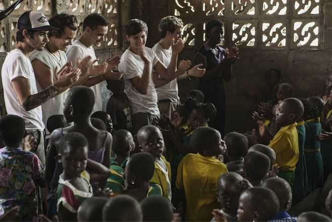 One Direction Ghana Red Nose Day
