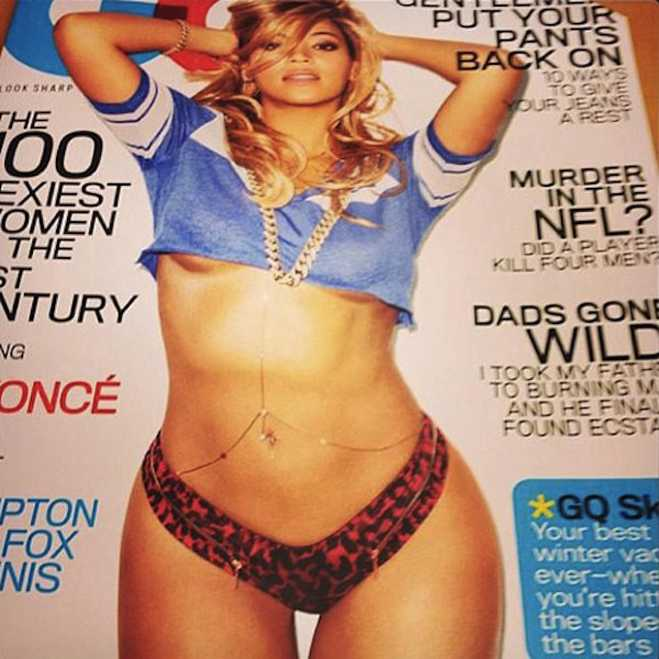 Beyonce gq cover was