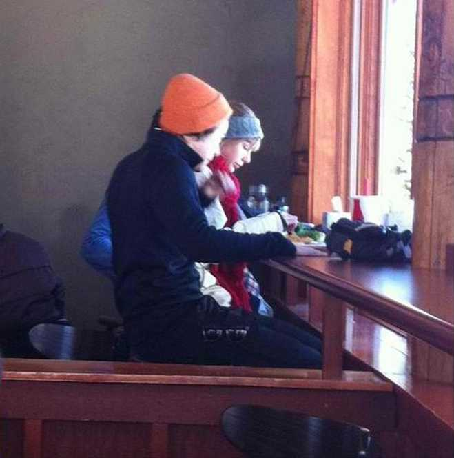 Harry Styles Taylor Swift Skiing