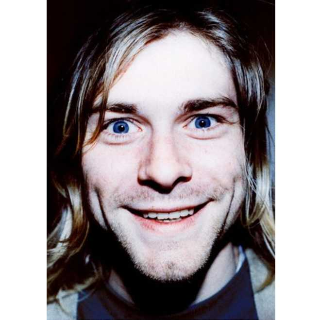 Kurt Cobain Birthday Smiling