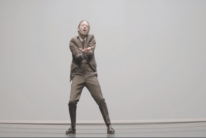 Thom Yorke Atoms for Peace Dance