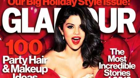 Selena Mag Slideshow - Red Glamour Feature