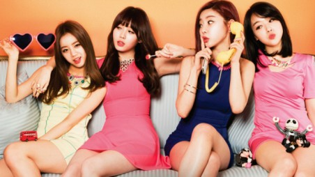 Girl's Day Expectation Album Cover