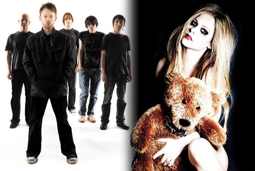 Radiohead Avril Lavigne Never Growing Up Feature