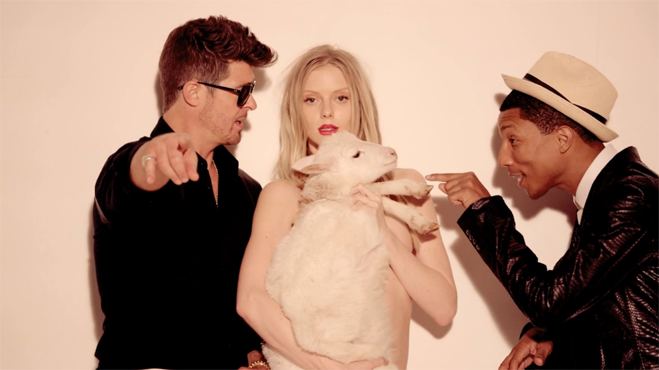 Robin Thicke Blurred Lines Video 03