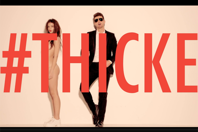 Why Is Robin Thicke Dancing With Naked Ladies in His New Music Video?