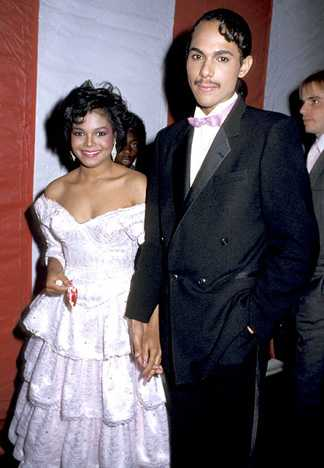 Janet Jackson and James DeBarge