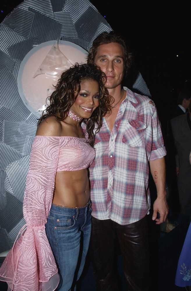 Janet Jackson and Matthew McConaughey