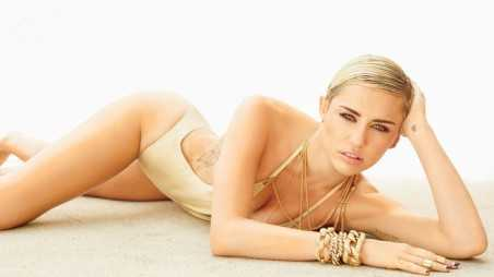 Miley Cyrus Maxim Feature