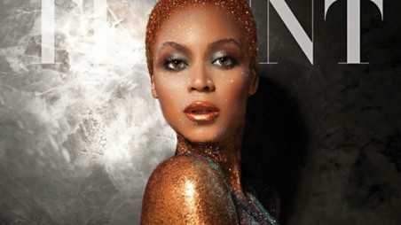 Beyonce flaunt feature