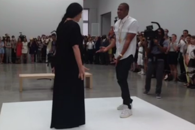 Jay-Z Marina Abramovic Dance Feature