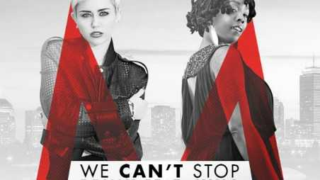 Miley Cyrus Khia We Can't Stop Remix Feature