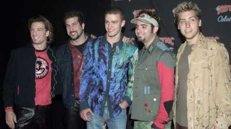 NSYNC Record Release Party