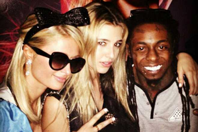 Paris Hilton Lil Wayne Birthday