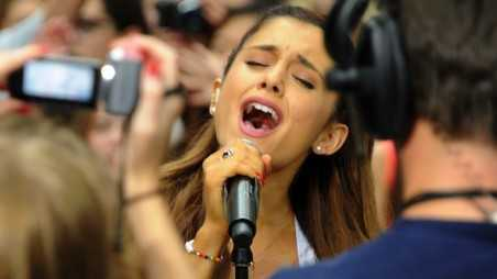 """Ariana Grande Performs On NBC's """"Today"""""""