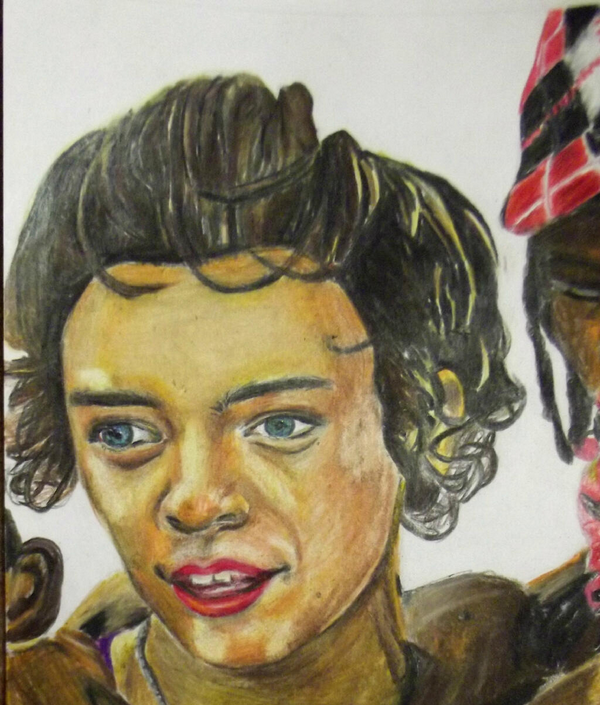 Bad Harry Styles Drawing
