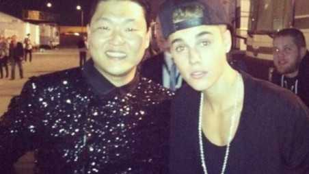 Justin Bieber PSY Feature