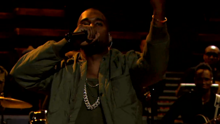 Kanye West Bound 2 Jimmy Kimmel Feature