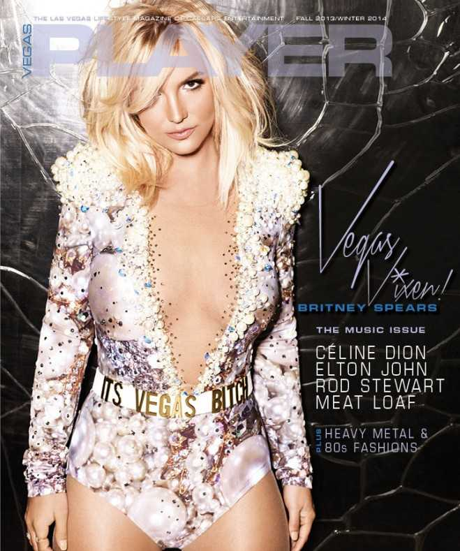 Britney Vegas Player Cover