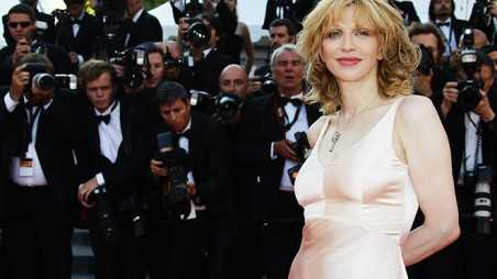 "Courtney Love at the ""This Must Be The Place"" premiere in Cannes, May 2011—Photo: Getty"