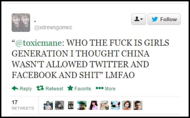 Girls Generation Racist Tweet 05