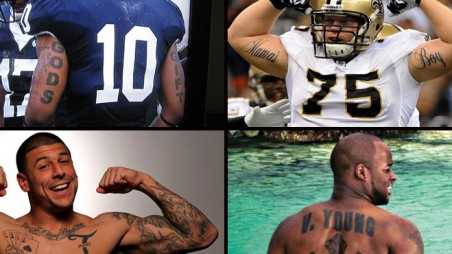 NFL Bad Tattoos Photos