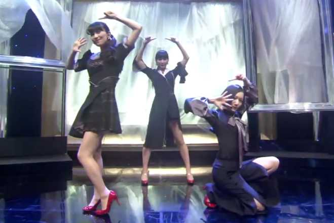 "Watch J-pop Trio Perfume Dance To Dubstep In First Performance Of ""Sweet Refrain"""