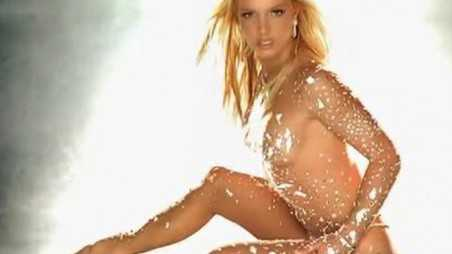 """A catholic schoolgirl uniform, that's nothing! Totally naked wearing nothing but diamonds, upped Britney Spears' sexy ante in 2004 with the release of """"Toxic."""""""