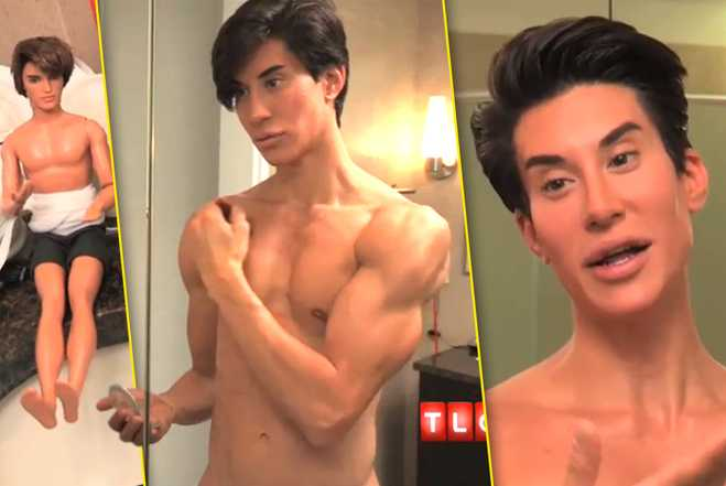 Living Doll Photos Real life Ken Video Justin Jedlica