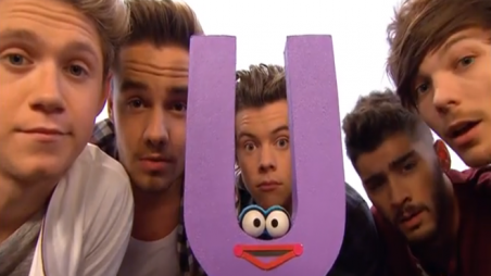 One Direction on Sesame Street - Preview