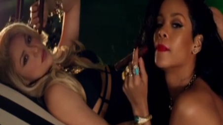 Shakira & Rihanna - Can't Remember To Forget You Music Video