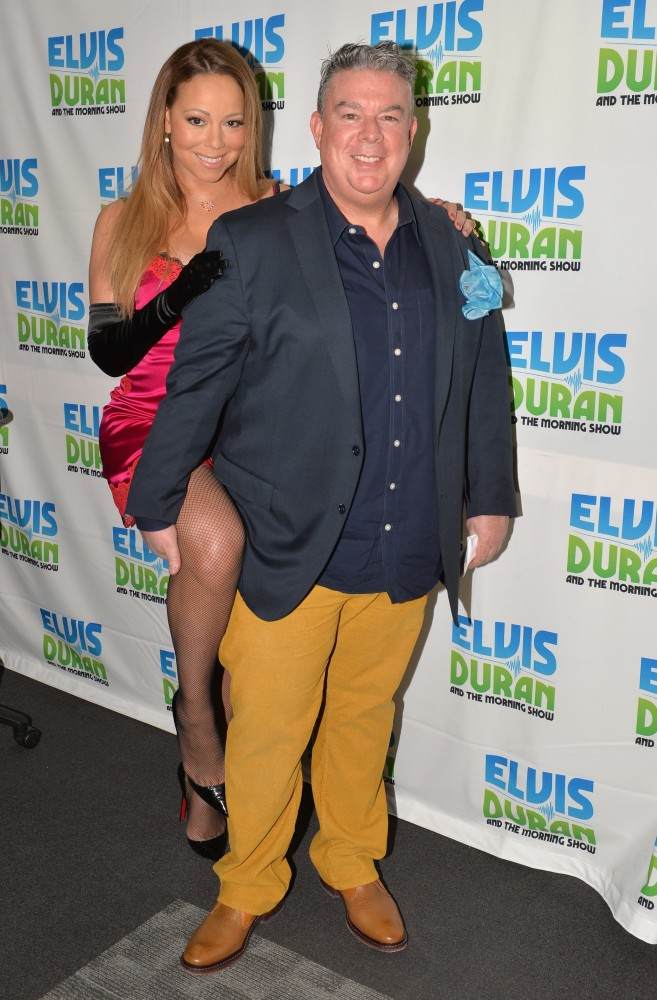 "Mariah Carey Visits ""The Elvis Duran Z100 Morning Show"""