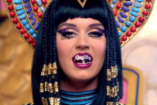 Katy Perry Previews Egyptian-Style 'Dark Horse' Music