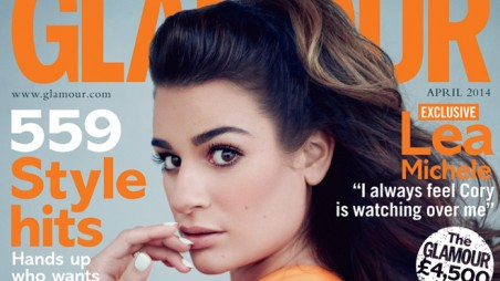 Lea Michele - Glamour UK April 2014 b