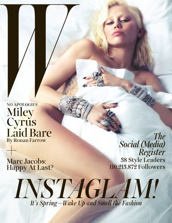 Miley Cyrus W Cover