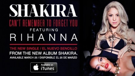 Shakira and Rihanna - Can't Remember To Forget You