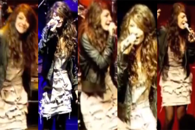 Lorde Before Famous Photos Video School Performance Age 12