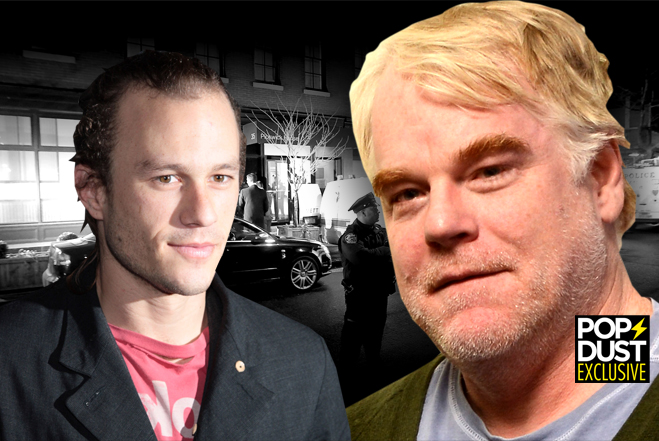 Philip Seymour Hoffman Drugs Heath Ledger Death