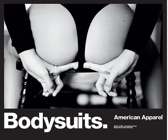 American Apparel continues to up the perv ante with never ending stream of sexually exploitative ads
