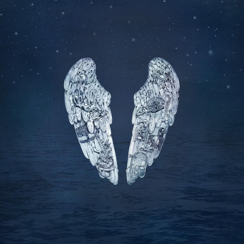 Coldplay - Ghost Stories album cover art