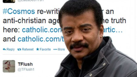 Cosmos anti Christians Outrage