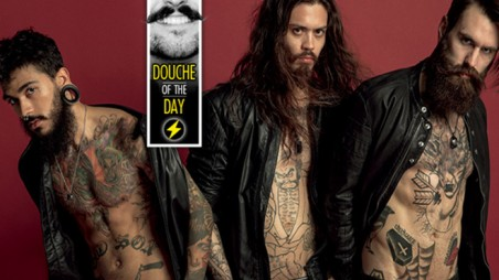 Douche Day Photos Hipsters Tattoos Beards Mustaches Diesel