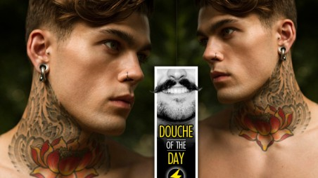 Douche Day Photos Hipsters Tattoos Beards Mustaches Prettyboy