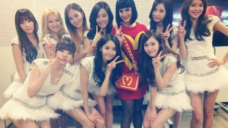 Girls' Generation Katy Perry Feature