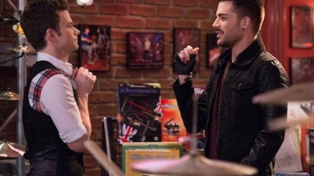 Glee - New New York - Chris Colfer & Adam Lambert 1