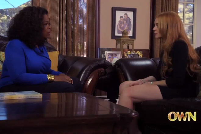 Lindsay Lohan & Oprah Winfrey - Docu-Series on OWN