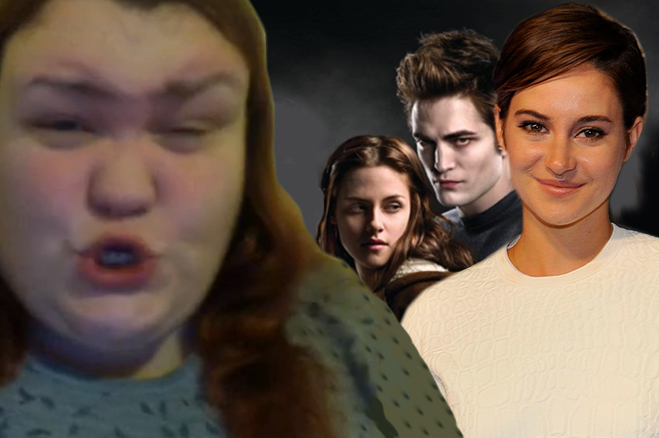 Shailene Woodley Twilight Diss Fan Rant Video Divergant